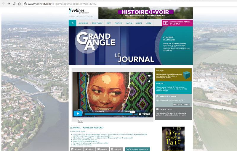 Biennale Beaux Arts Chatou Reportage Yvelines Première 8 mars 2017