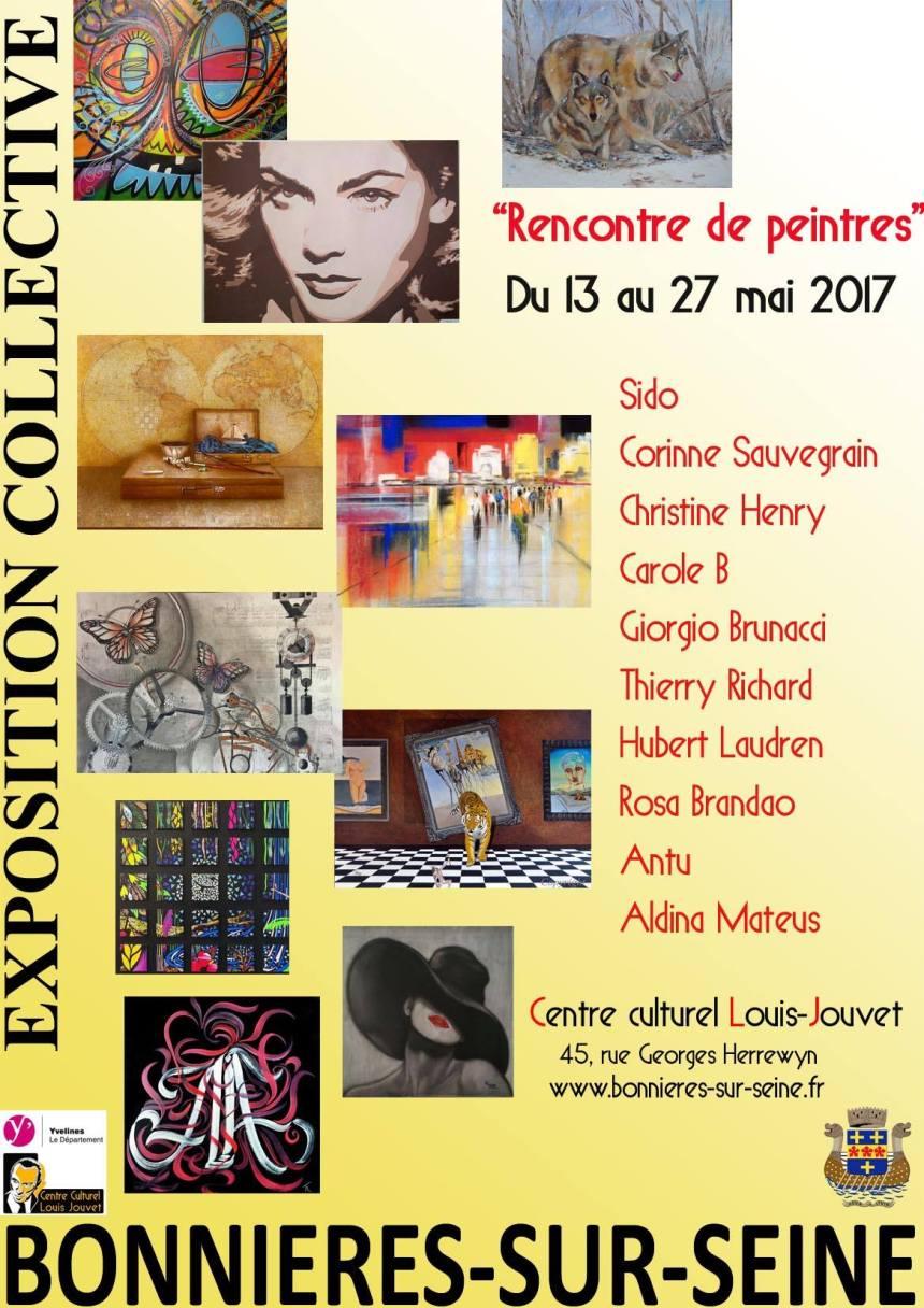 Carole-b-Centre-Culturel-Louis-Jouvet-rencontre-de-peintres-mai-2017