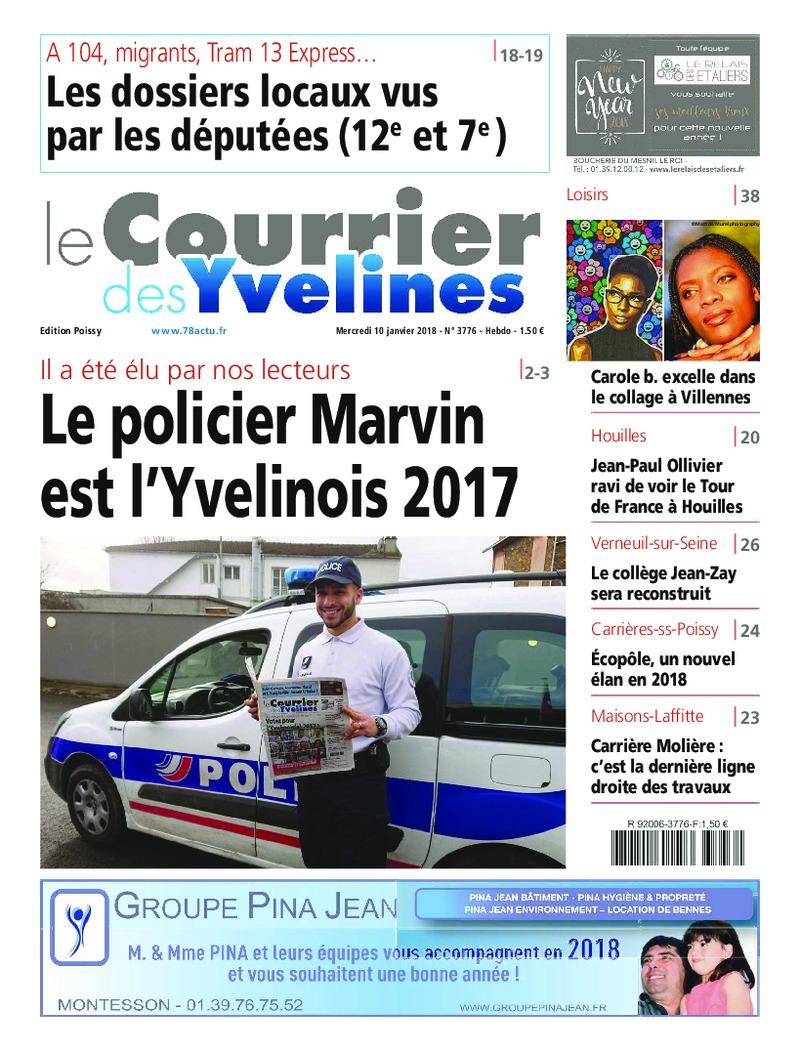 Carole-b-couverture-Le-Courrier-des-Yvelines-mercredi-10-janvier-2018