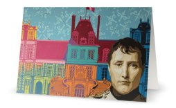 """""""Couleurs Impériales"""" 11,7 x 18,2 cm, carte postale pliée, papier brillant 350 gr, intérieur vierge. Enveloppe fournie"""