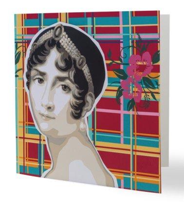 """""""La Compagne Créole"""" 14 x 14 cm, carte postale pliée, papier brillant 350 gr, intérieur vierge. Enveloppe fournie"""
