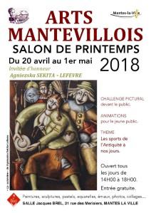Carole-b-Decoupage-collage-Affiche-Arts-Mantevillois-2018